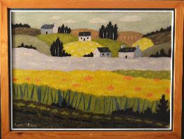 André Even 1918-1997 Riec Sur Belon 80 chantournée haute normandie naturel val antiquairenord estime n°1 494""
