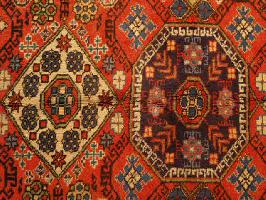 Grand tapis ancien biarritz décoration antiquairenord grand tissus anticstore tapis main orient Obje n°2 279""