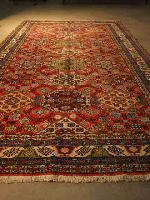 Grand tapis ancien biarritz décoration antiquairenord grand tissus anticstore tapis main orient Obje n°5 279""