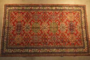 Grand tapis ancien biarritz décoration antiquairenord grand tissus anticstore tapis main orient Obje n°6 279""